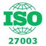 Standardul de securitate ISO 27003