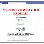 Cele mai multe escrocherii pe Facebook promit să dezvăluie vizitatorii profilului