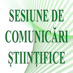 sesiune comunicari stiintifice